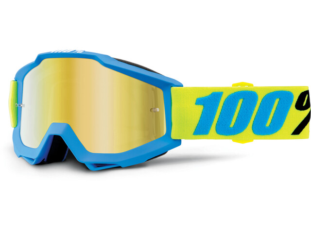 100% Accuri Goggle Anti Fog Mirror Lens / belize